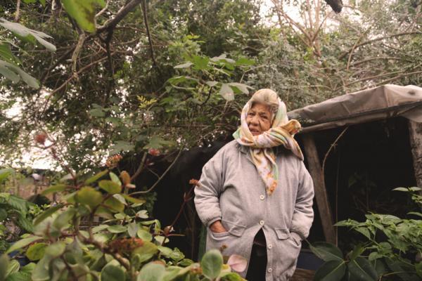 Maria Luisa Aranda lives in a colonia in Progreso, a town near the Texas border.