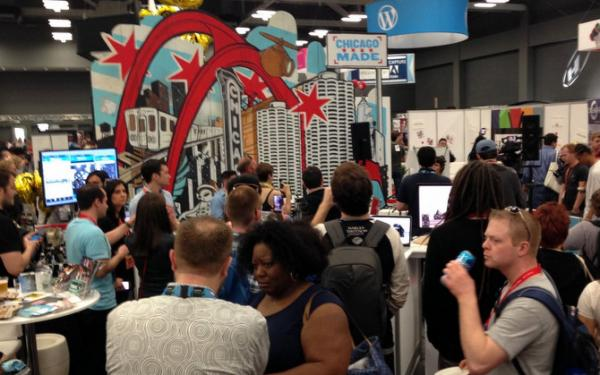 Cities and countries are pitching themselves at SXSW as places for tourism and economic development. (Michael Samm)