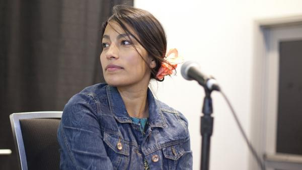 Chilean rapper Ana Tijoux in conversation with NPR's <em>Alt.Latino</em>at SXSW 2014.