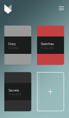 The Mod app organizes each handwritten notebook you digitize. Or you can store your notebooks in Evernote or Dropbox.