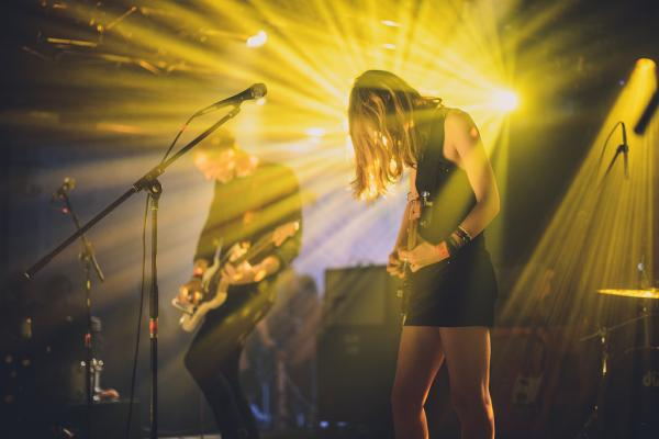 <p>Marshaling an army of effects pedals at Hype Hotel, the London-based Wolf Alice reminded us of a time when noise-pop was a lot fuzzier and dreamier.</p><p></p>