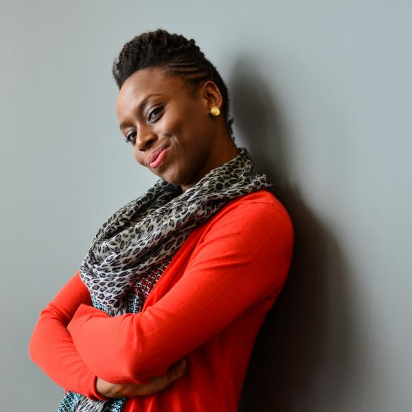 Chimamanda Ngozi Adichie won a National Book Critics Circle award for her novel <em>Americanah.</em>