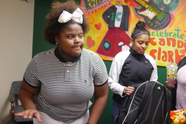 Trimble Tech student Taraysha Woods says she's deeply saddened by the death of a classmate.