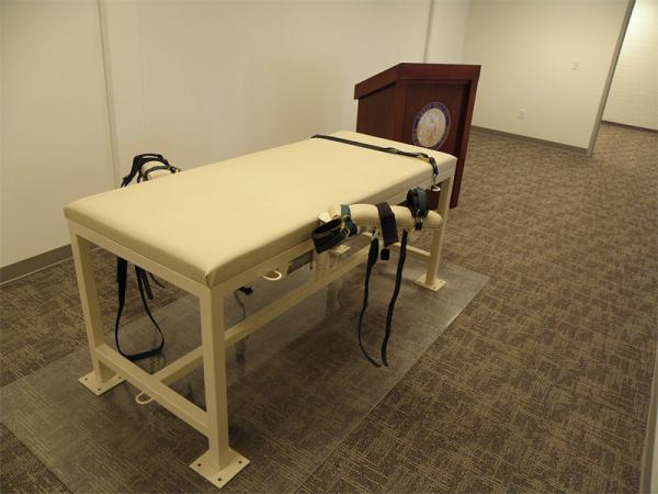 File photo of Idaho's execution chamber