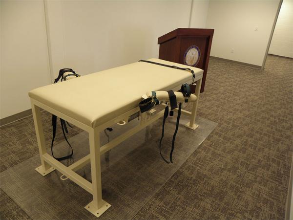 File photo of Idaho's execution chamber