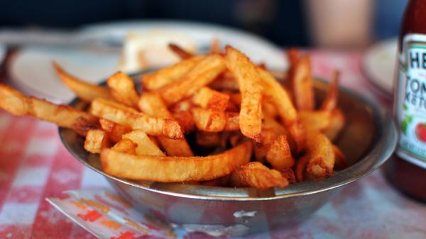 Oh, these look good! But how much the fries hurt your waistline depends not only on how many you eat but also your DNA.