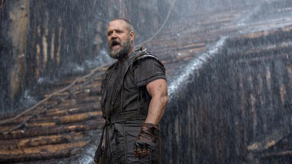 Russell Crowe, the lead in Darren Aronofsky's forthcoming biblical epic <em>Noah</em>, may have received a quick blessing from Pope Francis at a recent public audience, but the movie is drawing criticism in some quarters.