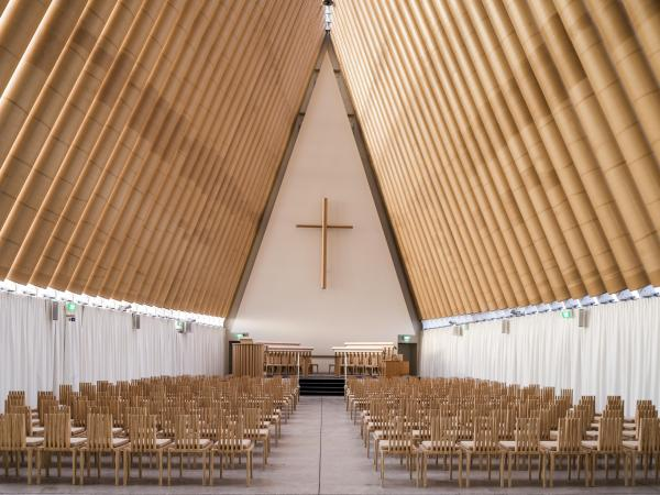 Cardboard Church, Christchurch, New Zealand.