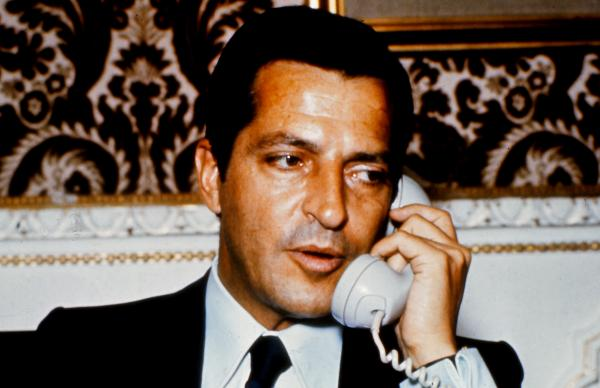 Adolfo Suarez, president of the Spanish government from 1977 to 1981. This picture was taken in Madrid in 1976.