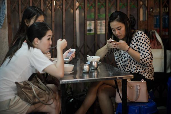 Where do you draw the line on smartphone use?
