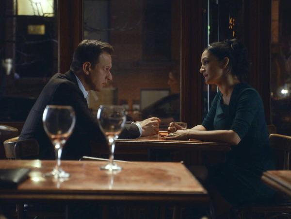 "Josh Charles as Will Gardner and Archie Panjabi as Kalinda Sherma on <em>The Good Wife</em>. In a word, ""Ugh."""