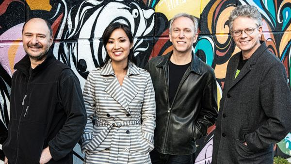 Over four decades, the Kronos quartet (from left, John Sherba, Sunny Yang, Hank Dutt and David Harrington) has premiered more than 800 pieces.