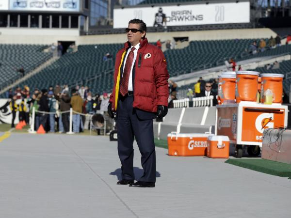 "Daniel Snyder, the Washington Redskins' owner, pointed to support from Native officials: ""They have genuine issues they truly are worried about, and our team's name is not one of them."""