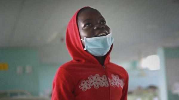 Nokubhega, 12, had to move away from her family and into a hospital for treatment against drug-resistant tuberculosis.