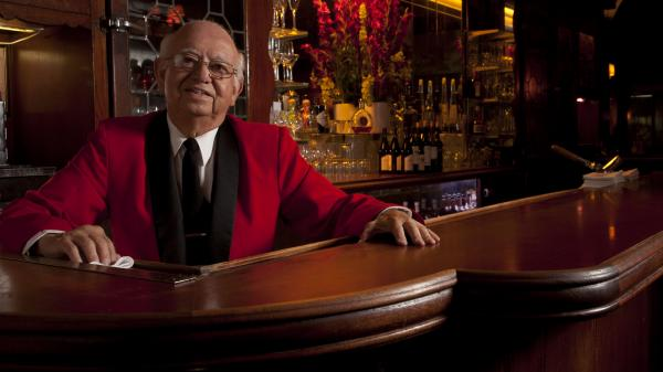 "Manuel ""Manny"" Aguirre, 80, has been mixing cocktails at Musso and Frank Grill in Los Angeles for more than two decades. He works part time and could retire — but he doesn't want to."
