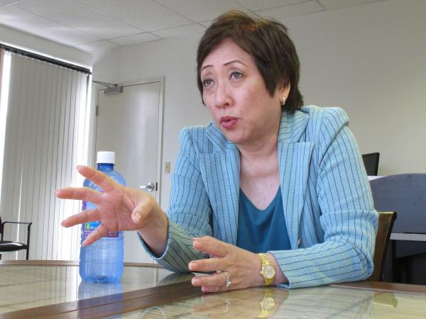 U.S. Rep. Colleen Hanabusa of Hawaii says the way her competitor's allies have made age an issue in her run for U.S. Senate is insulting to voters.