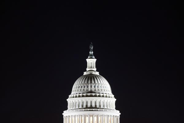 The Capitol dome in Washington will undergo restoration this spring, a project that is estimated to take two years and cost nearly $60 million.