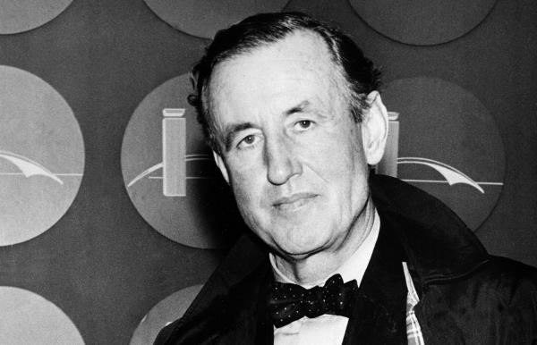 Ian Fleming, best-selling British author and creator of James Bond, is seen in this 1962 photo.