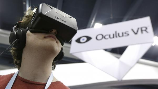 The Oculus Rift virtual reality headset is now part of Facebook's empire.