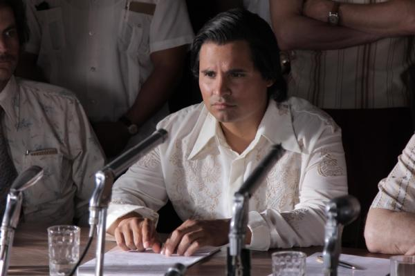 Michael Peña as civil rights leader César Chávez in a new biopic. (Pantelion Films)