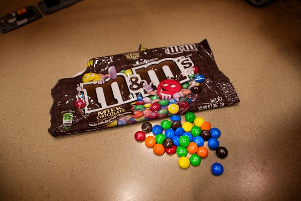 American M&M's (Jesse Costa/Here & Now)