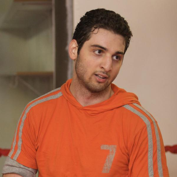 Tamerlan Tsarnaev in April 2009.