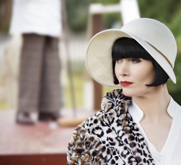 A new hat can cheer even an experienced actress, says Essie Davis.