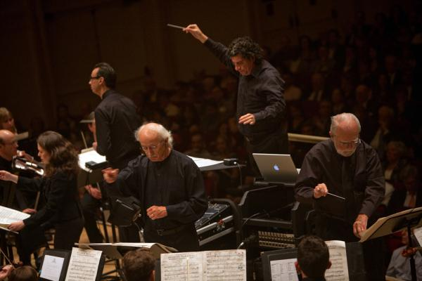 It takes not one or two, but five conductors to pull off Charles Ives' gargantuan  <em>Universe Symphony</em>, the opening work on the Nashville Symphony's Spring For Music concert at Carnegie Hall.