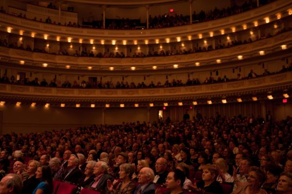 Carnegie Hall, which opened in 1891, is the venue for the annual Spring For Music concerts, which feature American orchestras in programs of adventurous repertoire.