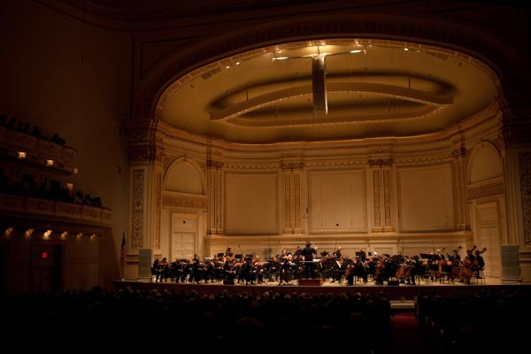 The Nashville Symphony on stage at Carnegie Hall. Nashville is associated with country music. But the 66-year-old Nashville Symphony has a strong following.