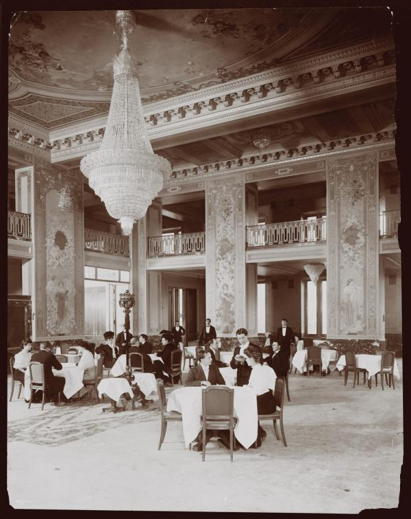 "An image from the book ""Repast: Dining Out at the Dawn of the New American Century, 1900-1910"" by Michael Lesy and Lisa Stoffer. (W. W. Norton & Company)"