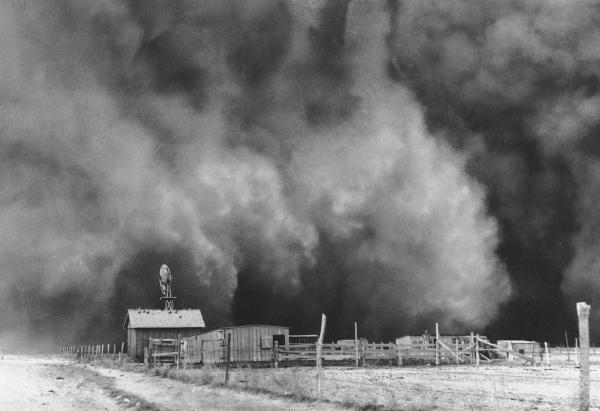 <em>The Grapes Of Wrath</em> opens in Dust Bowl Oklahoma.