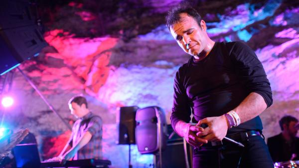 Future Islands at SXSW 2014.