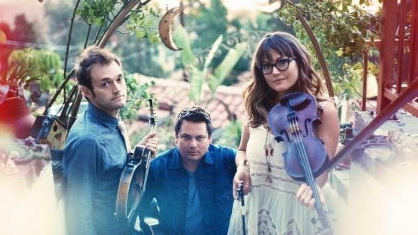 Nickel Creek's new album, <em>A Dotted Line, </em>comes out April 1.