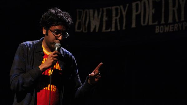 Brooklyn-based comic Hari Kondabolu