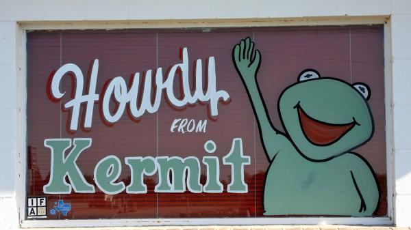 Kermit — located near the Texas/New Mexico border — was named after President Theodore Roosevelt's son.