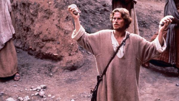 Willem Dafoe played Jesus in Martin Scorsese's 1988 <em>The Last Temptation of Christ</em>. A controversial dream sequence — in which Christ abandons the cross, marries Mary Magdalene and begets children with her — angered evangelicals and faith groups.