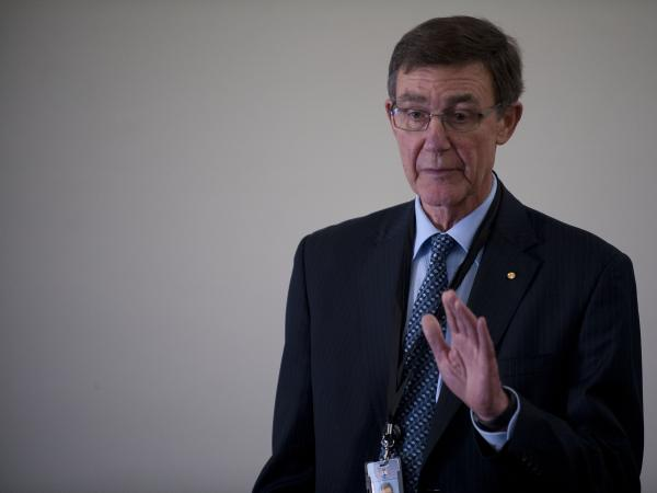 Angus Houston, the retired Australian air chief marshal who is leading the search for Malaysia Airlines Flight 370.