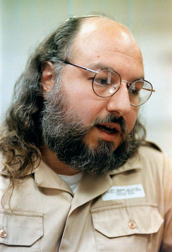 The U.S. is reportedly considering the release of Jonathan Pollard, a former Naval intelligence analyst who is serving a life sentence for spying for Israel. He's shown here during a 1998 interview at a federal prison in Butner, N.C., where he is still held.