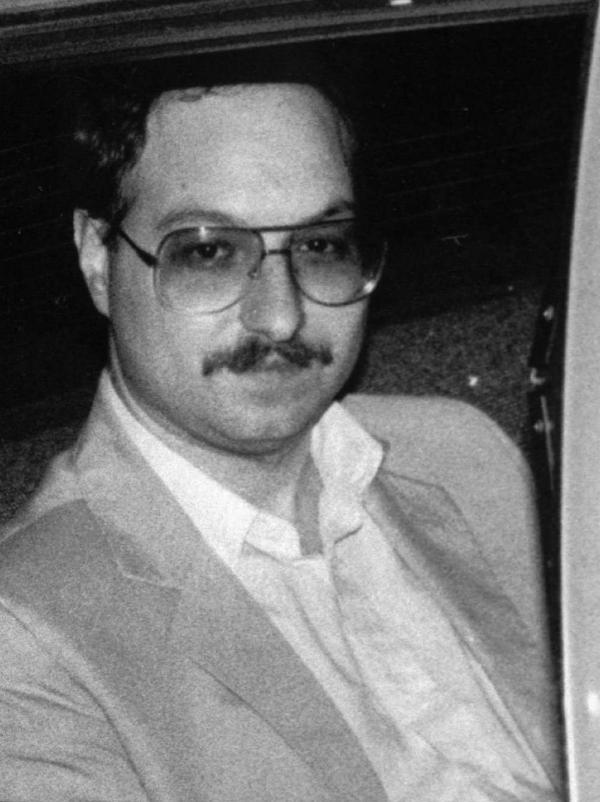 Pollard in 1985 after he was arrested. He pleaded guilty to spying the following year and is serving a life sentence.