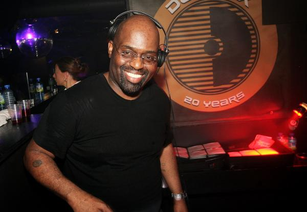 DJ Frankie Knuckles plays at the Def Mix 20th Anniversary Weekender at Turnmills nightclub on May 6, 2007 in London, England.  (Claire Greenway/Getty Images)