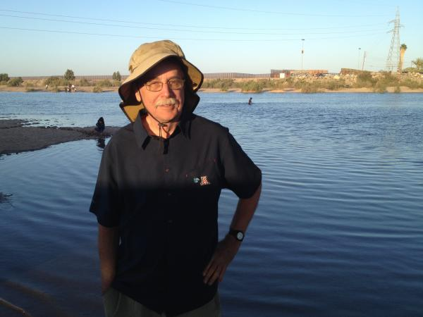 "Karl Flessa, a geoscientist, has studied the damage and restoration along the Colorado River Delta, which runs from the U.S. to Mexico. He recently watched people splash in the flowing water, saying, ""It doesn't get any better than this."""