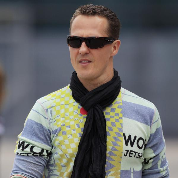Michael Schumacher in April 2012.