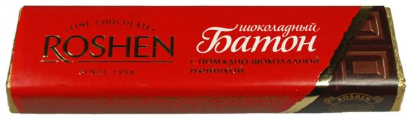 "Roshen is a premium brand but some say it tastes ""less refined"" than Western European chocolate."