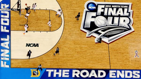 The Connecticut Huskies and Kentucky Wildcats will face off on the AT&T Stadium court in Arlington, Texas, on Monday night to decide the men's national champion in the NCAA tournament. The game begins at 9:10 p.m. ET.