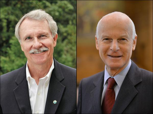 Incumbent Democrat John Kitzhaber (L) has built a sizeable fundraising lead over his likely Republican challenger Dennis Richardson.