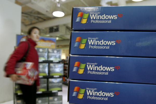 Microsoft is ending its support for the 12-year-old Windows XP software Tuesday.