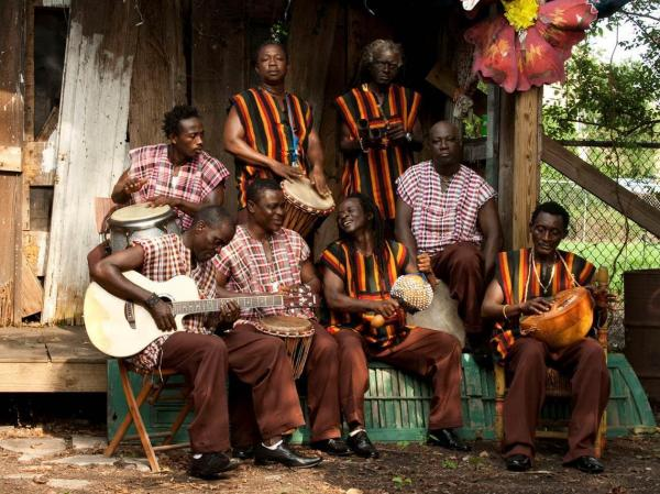 Sierra Leone's Refugee All Stars take their name from the documentary film that featured them in 2005.