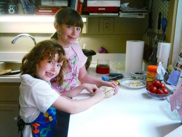 "Eve Schaub says her daughters were ""less than enthusiastic"" at first about the family's no-sugar-for-a-year experiment. But over time they learned to enjoy sugar-free baking."