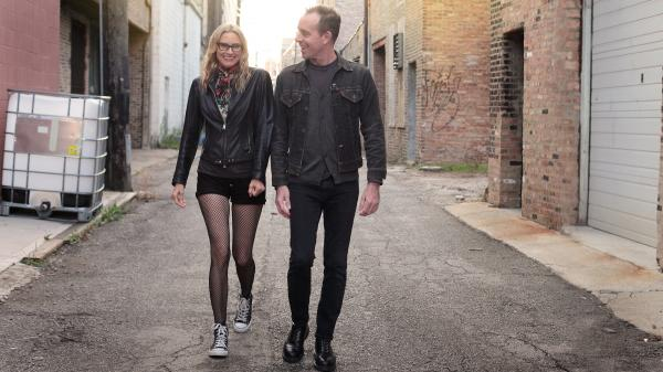 Ted Leo and Aimee Mann join forces on a new album named for their collaborative songwriting project, The Both.